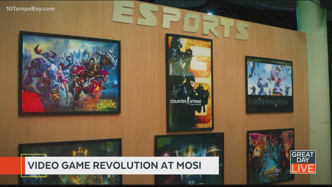 Video game revolution at MOSI