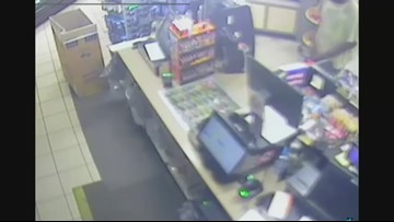 Polk County deputies search for armed robbery suspect