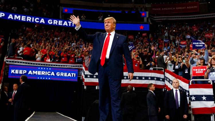 LIVE BLOG: President Donald Trump kicks off 2020 campaign in Orlando