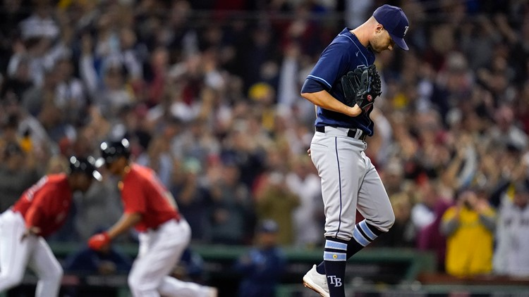 ALDS Game 4: Rays eliminated from playoffs