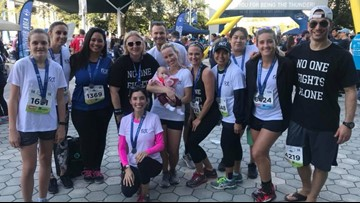 Support our 10News Miles for Moffit team to benefit cancer research