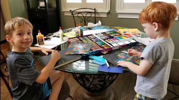 Spreading the joy: kindergarteners send letters, drawings to Tampa Bay seniors