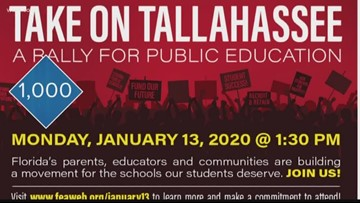 Thousands of teachers to head to Tallahassee to rally for better pay
