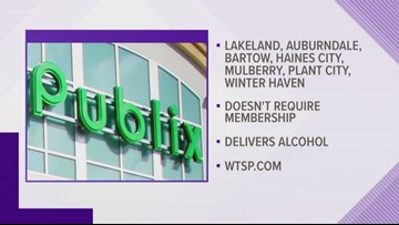 Publix expands grocery delivery service to Polk County