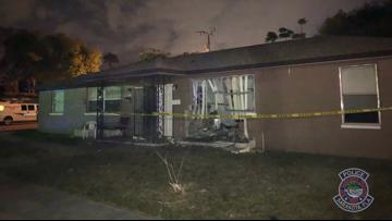 Driver killed after crashing into Sarasota building