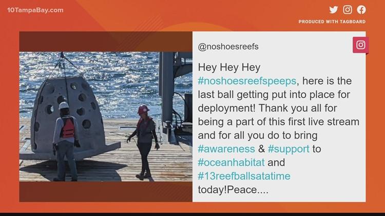 Kenny Chesney organization helps install artificial reef off Florida's Coast