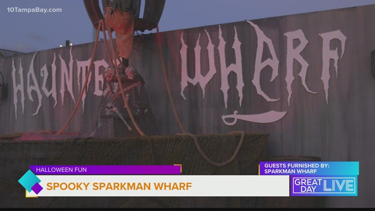 Haunted happenings at Sparkman Wharf