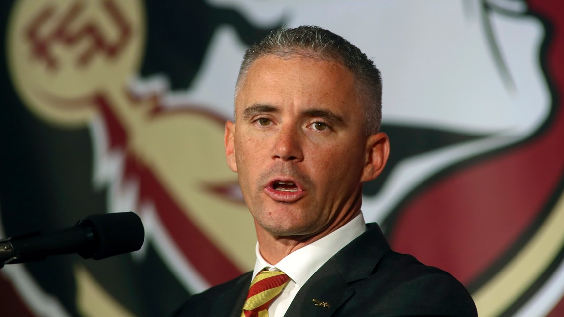 FSU's new coach won't lead his old team at the Cotton Bowl