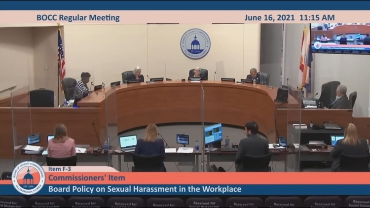 Hillsborough Commissioners vote to review sexual harassment policy after 10 Investigates' story