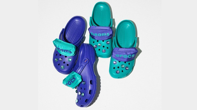 dc0cacf17f61 You can buy Crocs with tiny fanny packs on them
