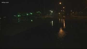 Storms leave high water in Pasco, Pinellas
