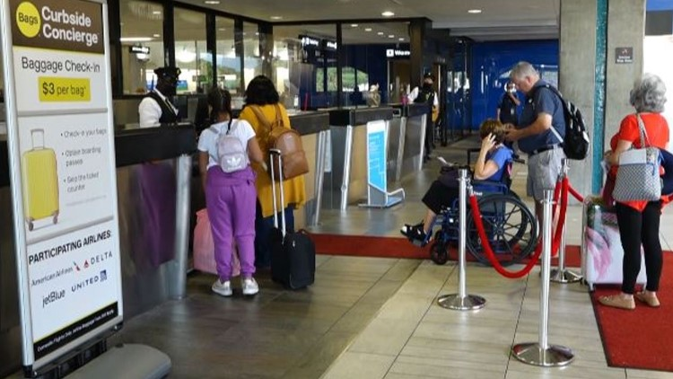 Curbside check-in returns to Tampa International Airport