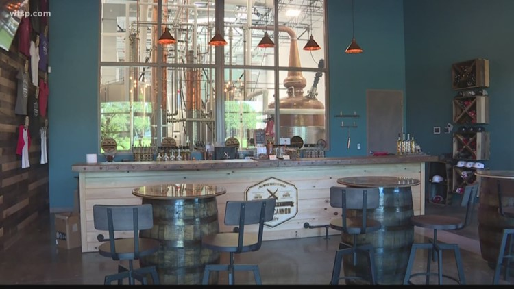Loaded Cannon Distillery opens in Manatee County