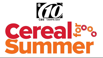 Cereal for Summer: Help 10News feed Tampa Bay!