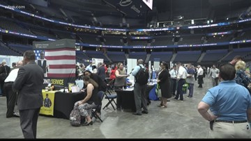 120+ job offers expected at veterans job fair in Tampa