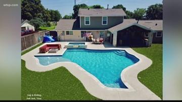 Wow Moments: Texas home has Texas-shaped pool