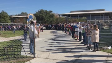 School says goodbye to resource officer in the most amazing way