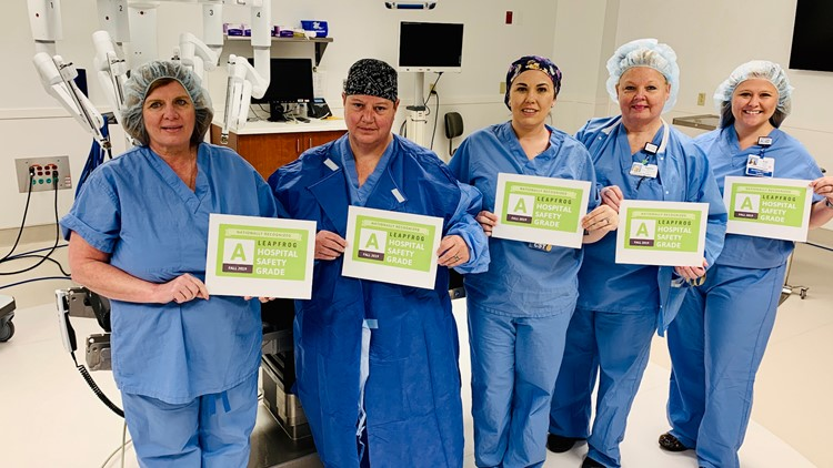 Doctors Hospital of Sarasota celebrates 'A' Grade