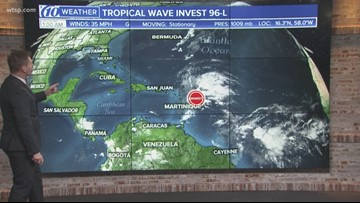 70% chance of a tropical or subtropical storm developing this week