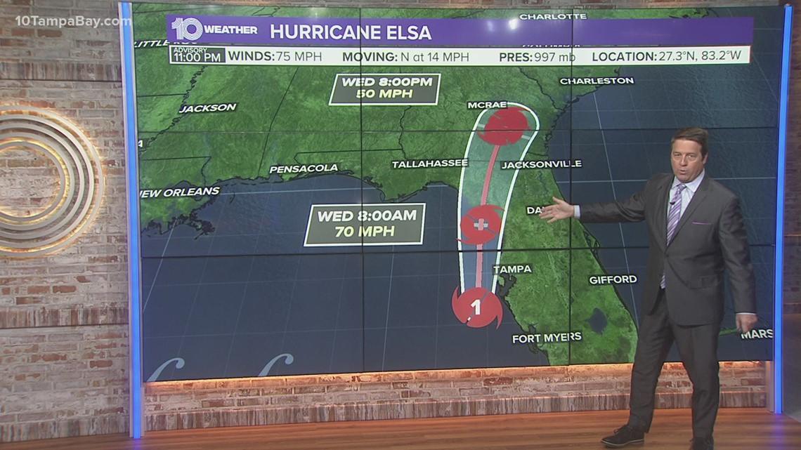 Hurricane Elsa: When it will impact Tampa Bay