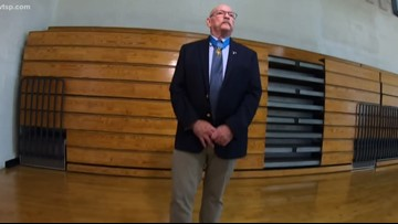 Medal of Honor recipient inspires students with stories of bravery
