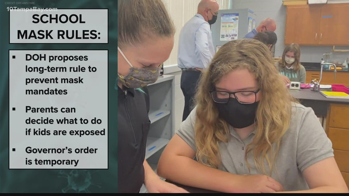 Florida wants to make permanent its rule that school mask mandates allow for opt-outs