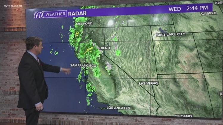 Thanksgiving Travel Weather Forecast Wtsp Com