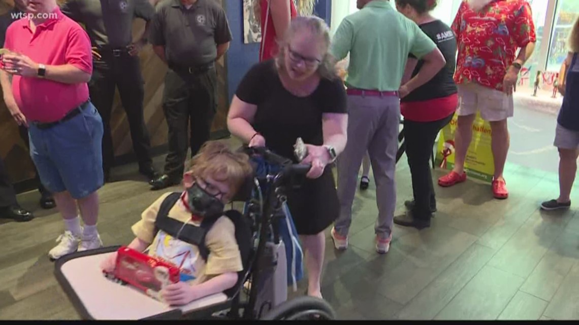 Tampa Bay 'kindness warrior' holds toy drive