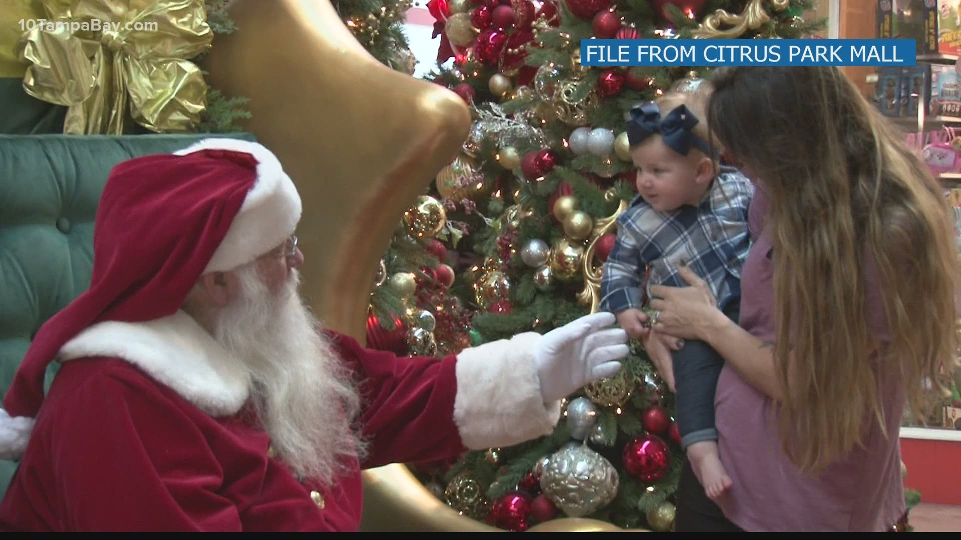 Tyrone Mall Christmas Day 2021 How To See Santa Claus Around Tampa Bay Malls In 2020 Wtsp Com