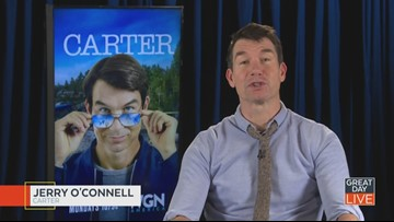 """Actor Jerry O'Connell talks """"Carter,"""" memories in Ybor City"""