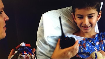 Santa visits kids at a Tampa hospital -- via ham radio