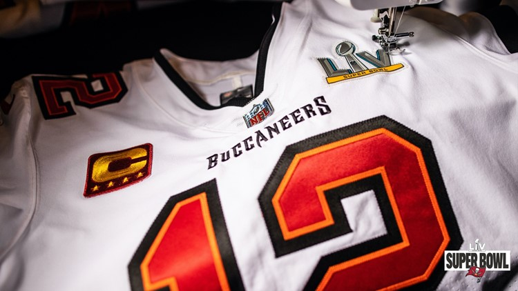 Buccaneers Super Bowl LV jerseys get finishing touches   wtsp.com