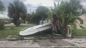 Confirmed tornado hit Madeira Beach on Sunday