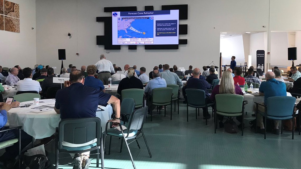 Port Tampa Bay hosts hurricane training simulation