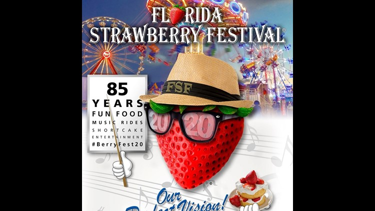 You could win tickets to the Strawberry Festival!