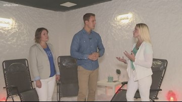 New salt therapy room offered in Lakeland