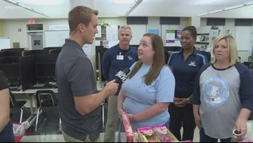 Staff at Newsome High School speak on being named the 10News School of the Week powered by Duke Energy Florida