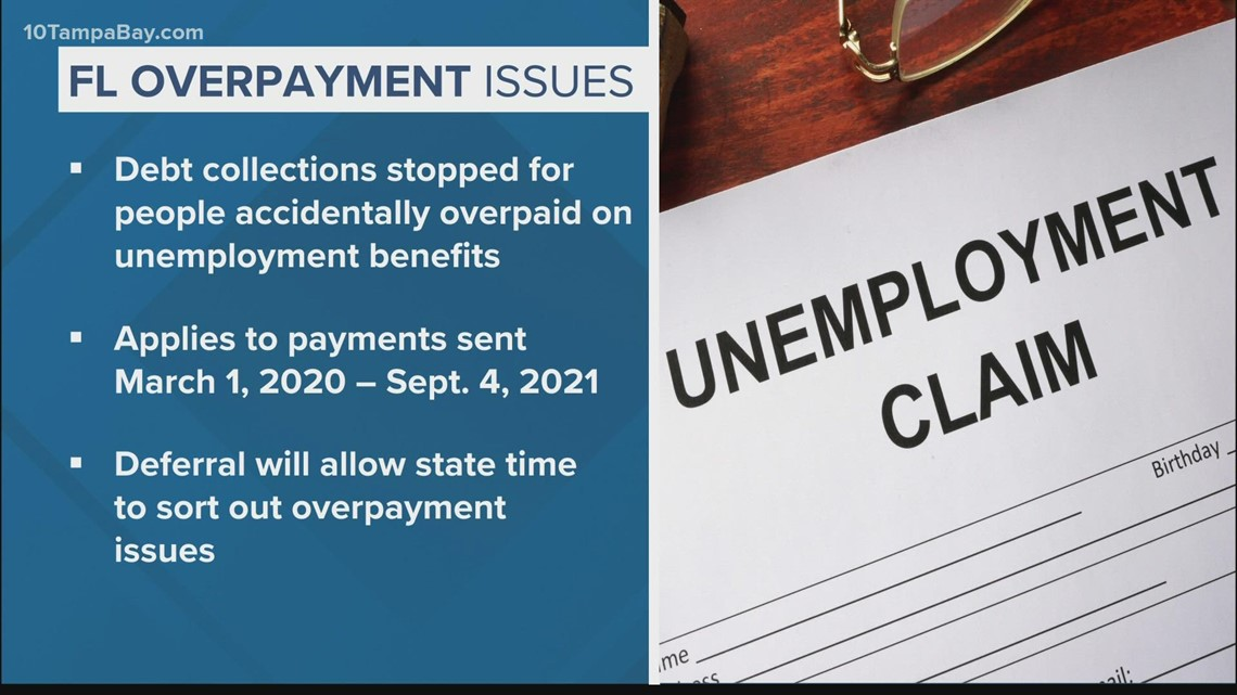 Gov. DeSantis orders halt to debt collections related to unemployment benefit 'overpayment' issues