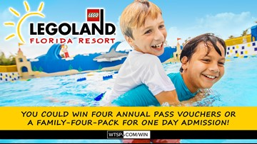 Win Legoland tickets for you and your family!