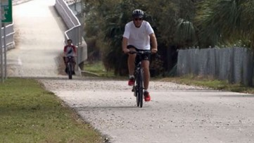 Portion of Pinellas Trail gets new lighting designed to make people safer