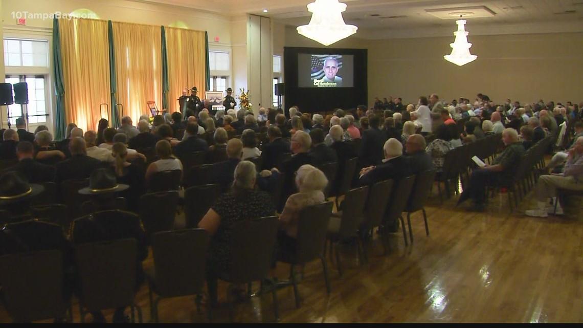 Community celebrates the life of longtime Hillsborough County Sheriff Cal Henderson