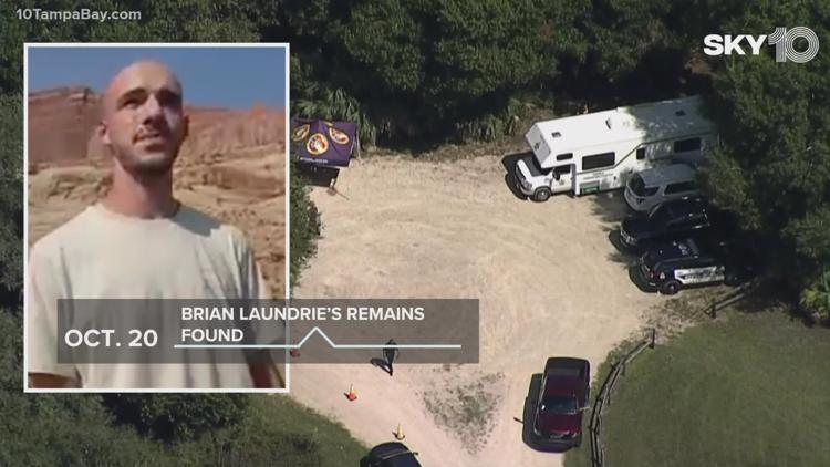Laundrie parents told FBI he did not return home Sept. 13, attorney says