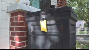 Tampa man's Box Lock prevents porch pirates from stealing packages