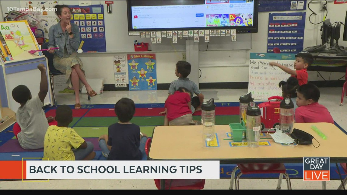 Back-to-school learning tips