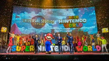 Universal's Super Nintendo World promises to put you 'inside' video games