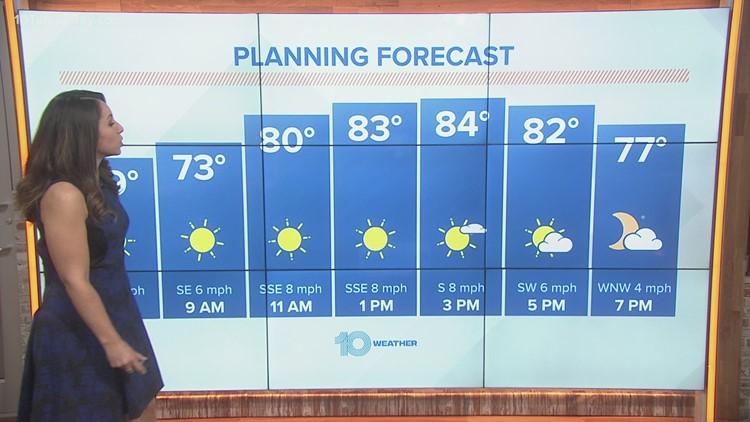 10 Weather: Saturday morning forecast; Feb. 27, 2021