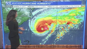Major Hurricane Humberto, Imelda, Tropical Depression 10: It's a busy time of year
