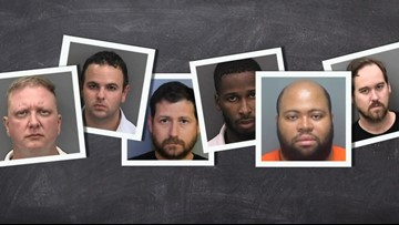 These teachers are accused of having sexual relationships with students. It started on social media.