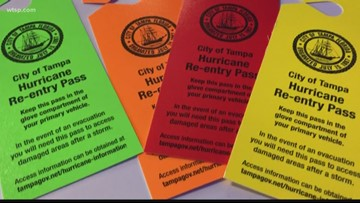 Tampa wants you to use these car tags after a hurricane moves through | 10News WTSP