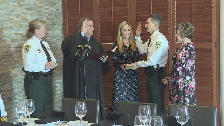 Sheriff Chad Chronister sworn-in as Hillsborough County Sheriff again